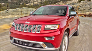 Jeep Grand Cherokee 2014 Facelift f. Teaser