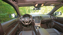 Jeep Grand Cherokee 3.0 CRD, Cockpit
