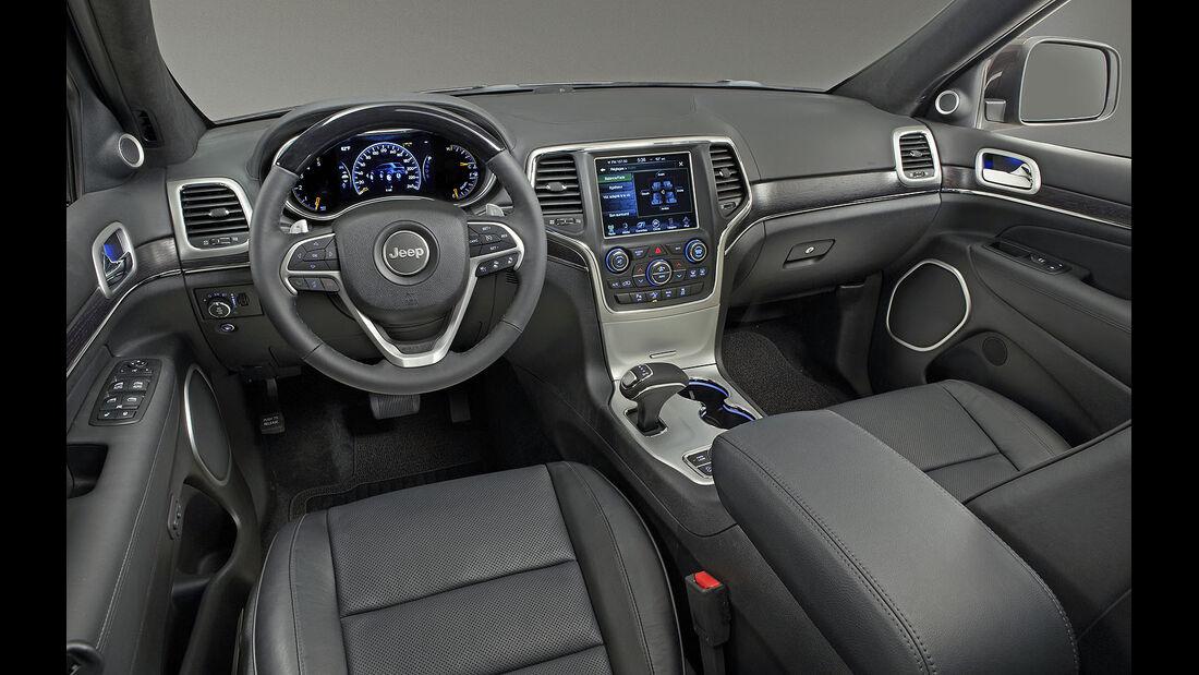 Jeep Grand Cherokee 3.0 CRD Facelift 2013 Fahrbericht /  Test