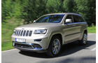 Jeep Grand Cherokee 3.0 CRD, Frontansicht