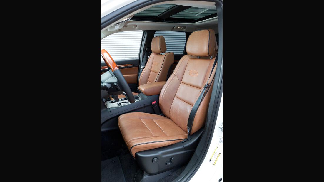 Jeep Grand Cherokee 3.0 CRD Overland, Fahrersitz