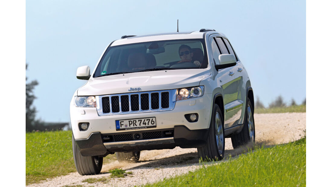 Jeep Grand Cherokee 3.0 CRD Overland, Front