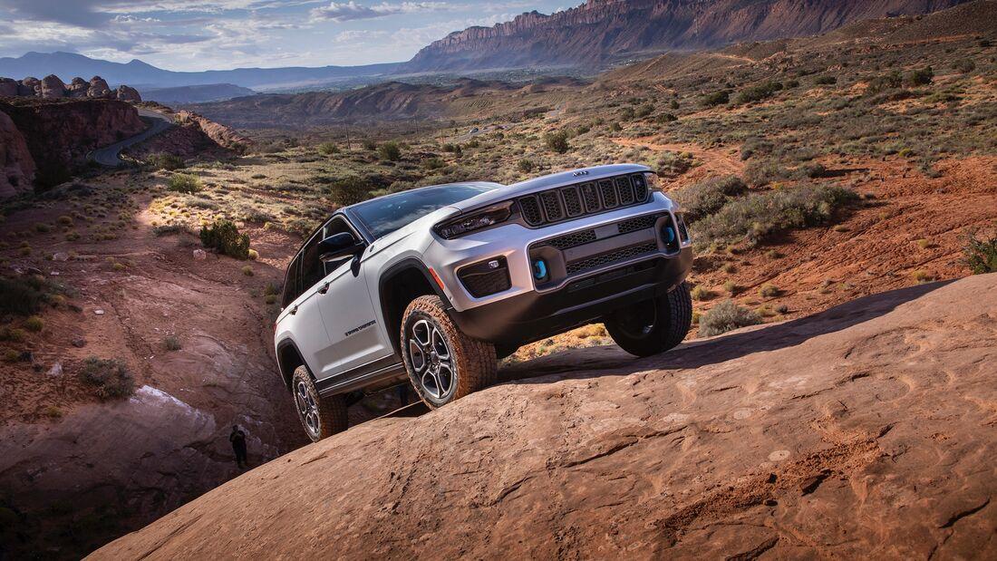 Jeep Grand Cherokee 4xe (2022) Premiere