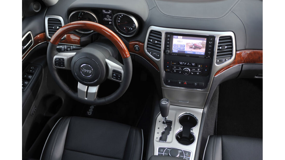 Jeep Grand Cherokee, Cockpit