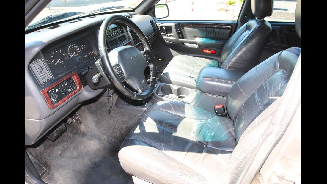 Jeep Grand Cherokee, Cockpit, Sitze
