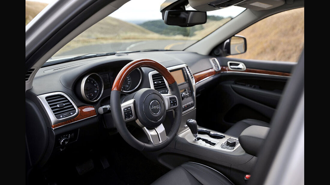 Jeep Grand Cherokee, Cockpit