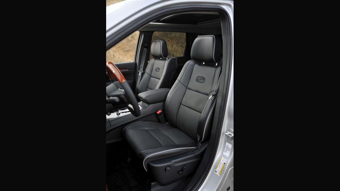 Jeep Grand Cherokee, Fahrersitz