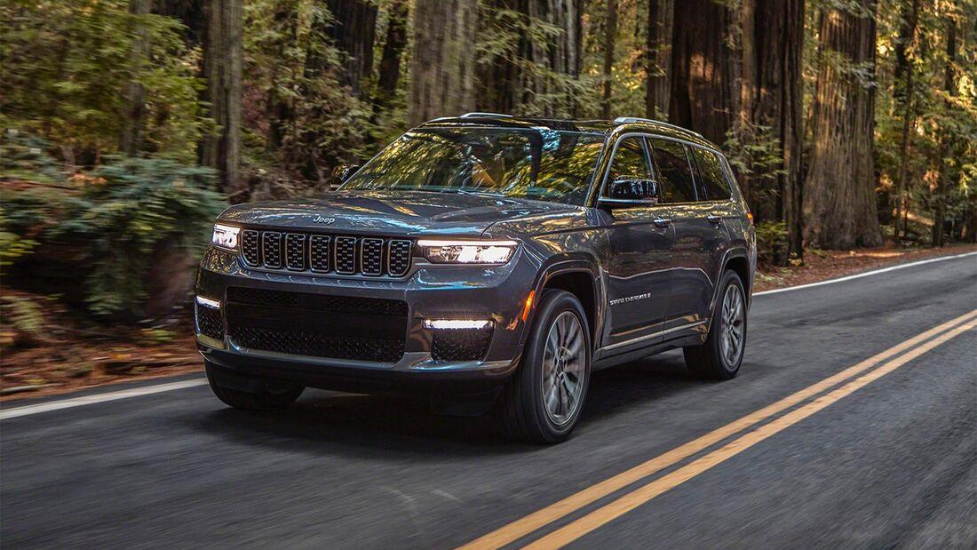 Jeep Grand Cherokee Premiere MY 2021