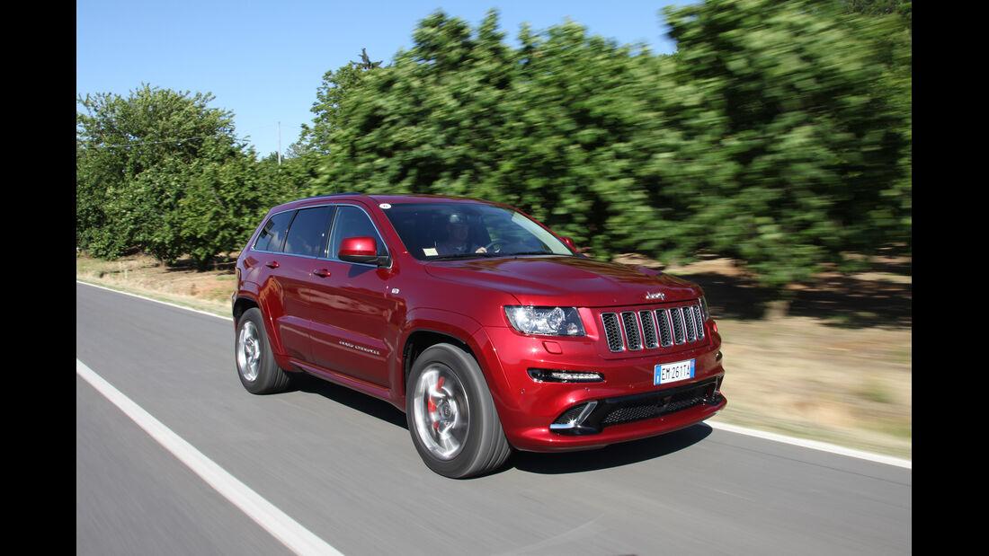 Jeep Grand Cherokee SRT, Frontansicht