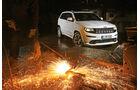 Jeep Grand Cherokee SRT, Frontansicht, Feuerfunken