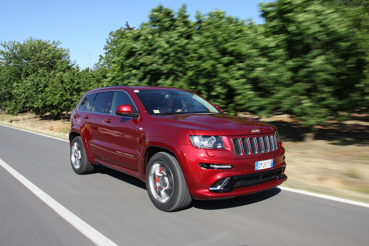 Jeep Grand Cherokee SRT, Frontansicht