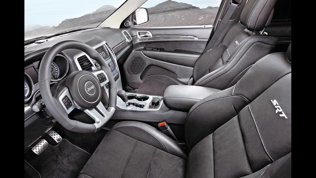 Jeep Grand Cherokee SRT, Lenkrad, Fahrersitz