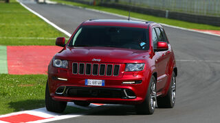 Jeep Grand Cherokee SRT8 2012 erster Test