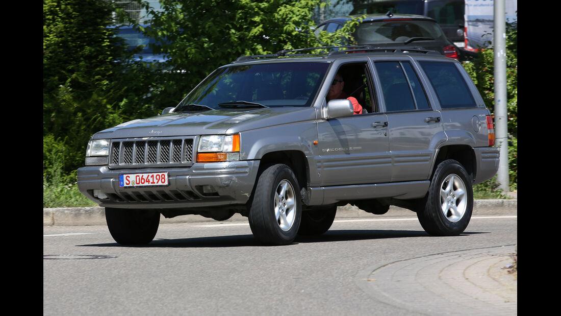 Jeep Grand Cherokee, Seitenansicht