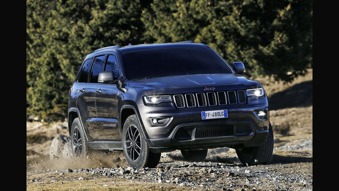 Jeep Grand Cherokee Trailhawk MY 2017
