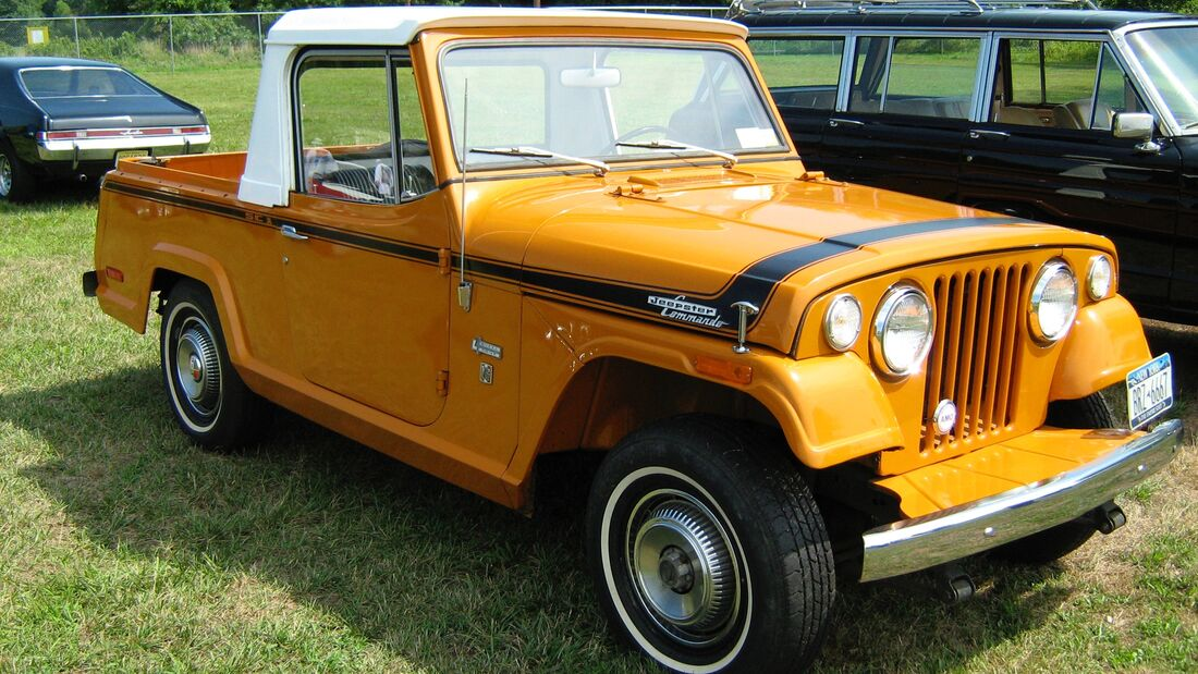 Jeep Jeepster Commando 1970 Oldtimer