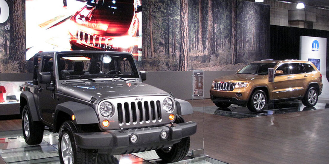 Jeep Messestand