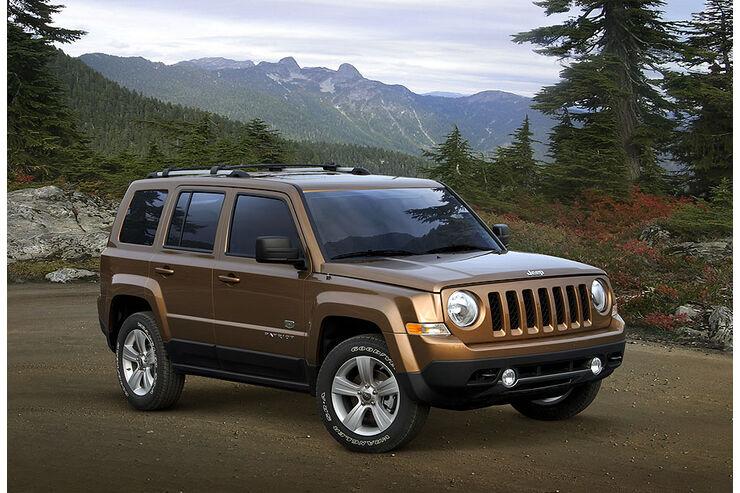 jeep patriot technische daten - auto motor und sport