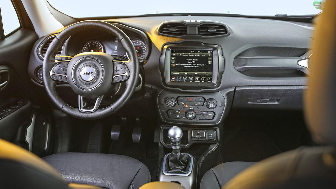 Jeep Renegade 1.0 T-GDI, Interieur