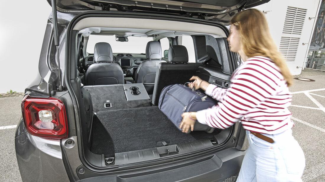 Jeep Renegade 1.0 T-GDI, Kofferraum