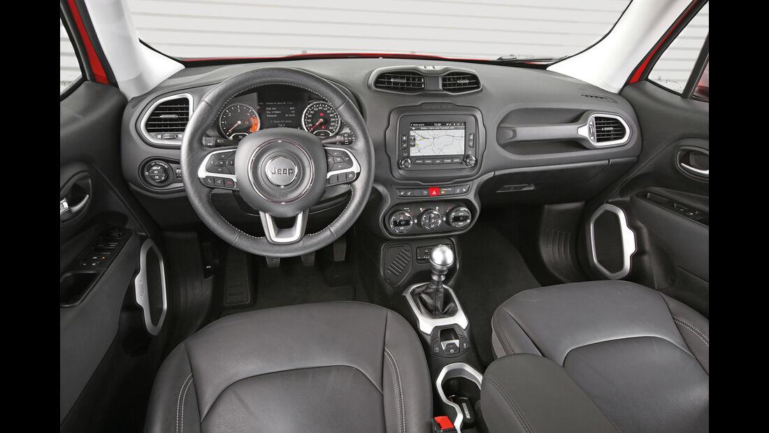Jeep Renegade 1.6 Multijet Limited, Cockpit