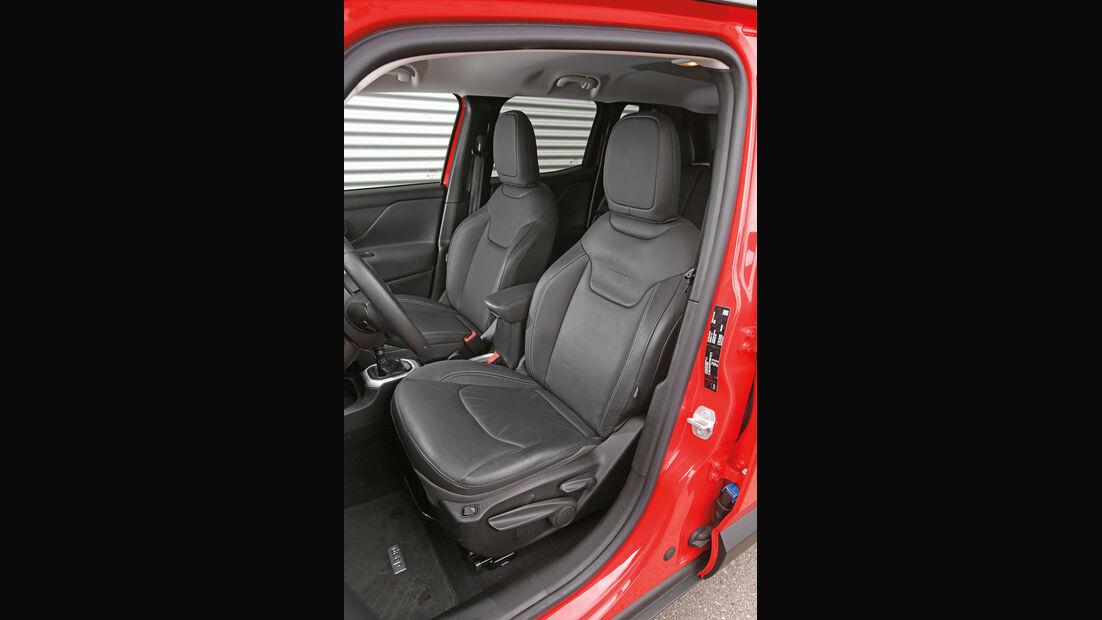 Jeep Renegade 1.6 Multijet Limited, Fahrersitz