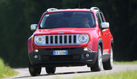 Jeep Renegade 1.6 Multijet Limited, Frontansicht