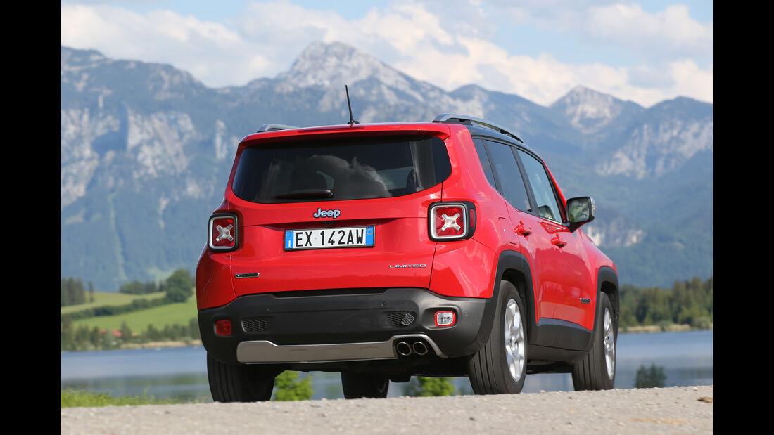 Jeep Renegade 1.6 Multijet Limited, Heckansicht