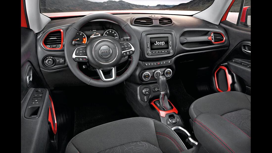 Jeep Renegade 2.0 Multijet, Cockpit