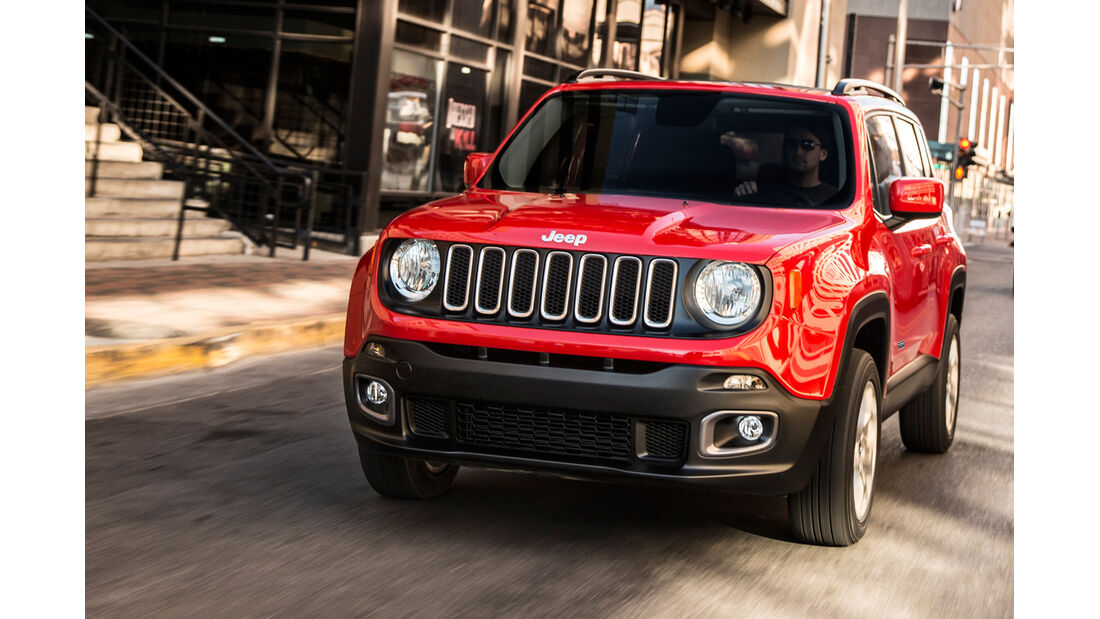 Jeep Renegade 2.0 Multijet, Frontansicht