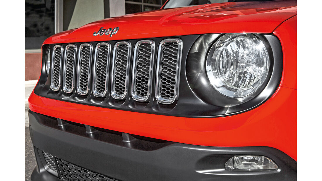 Jeep Renegade 2.0 Multijet, Frontscheinwerfer