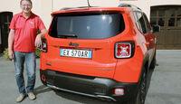 Jeep Renegade 2.0 Multijet, Heckansicht, Michael Harnischfeger