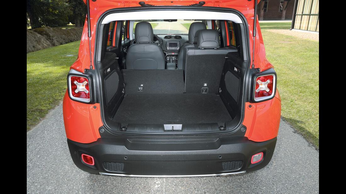 Jeep Renegade 2.0 Multijet, Kofferraum