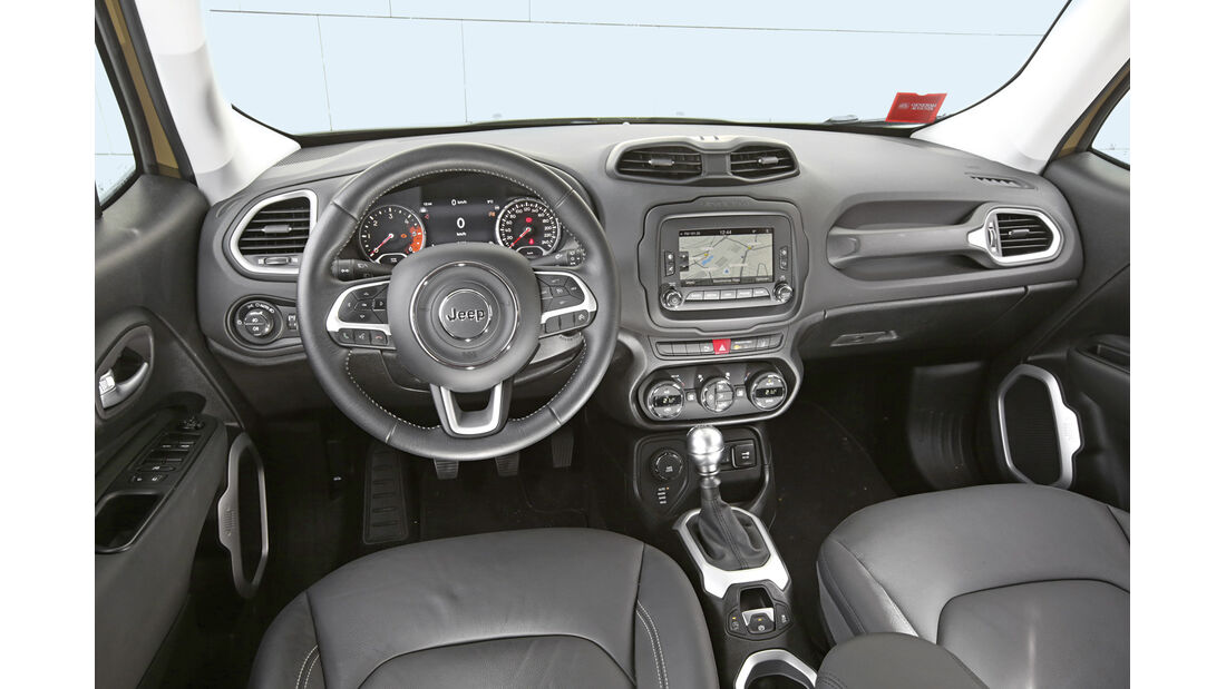 Jeep Renegade 2.0 Multijet Limited, Cockpit