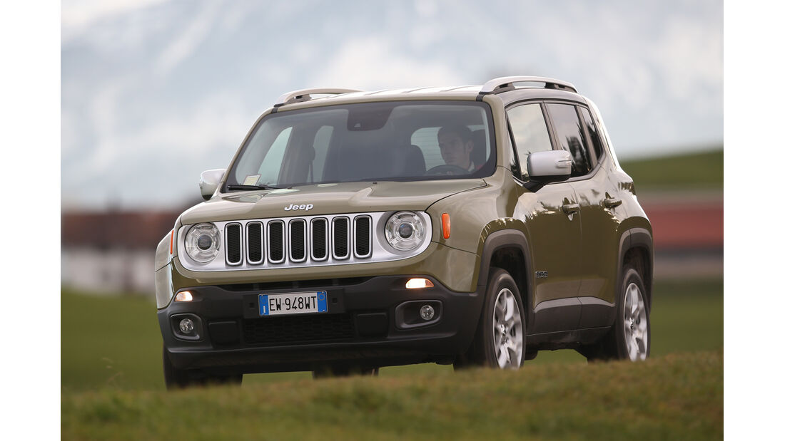 Jeep Renegade 2.0 Multijet Limited, Frontansicht