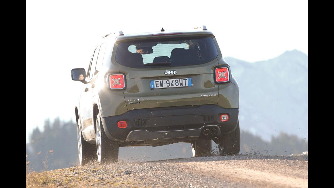 Jeep Renegade 2.0 Multijet Limited, Heckansicht
