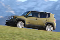 Jeep Renegade 2.0 Multijet Limited, Seitenansicht