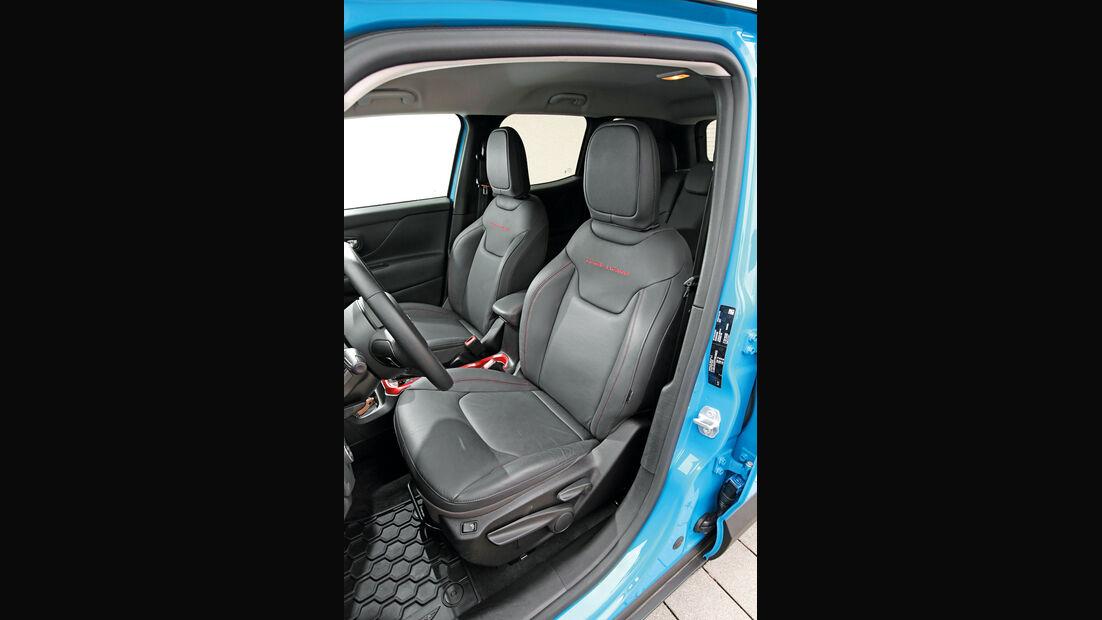 Jeep Renegade 2.0 Multijet Trailhawk, Fahrersitz