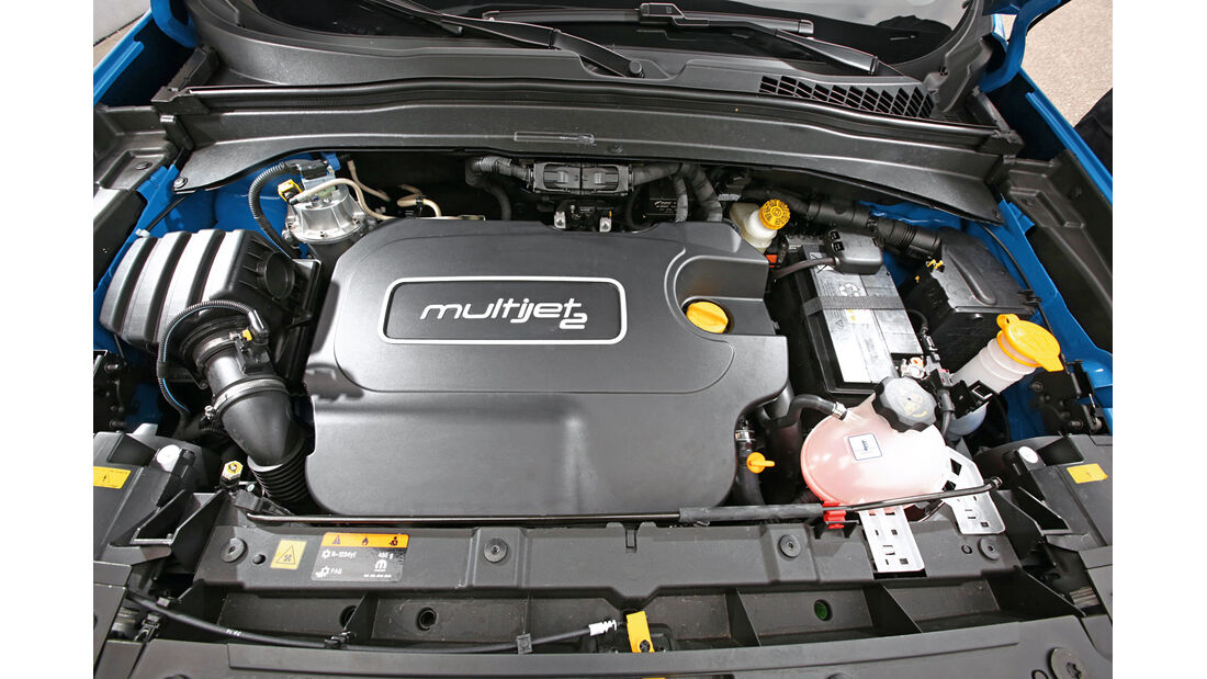 Jeep Renegade 2.0 Multijet Trailhawk, Motor