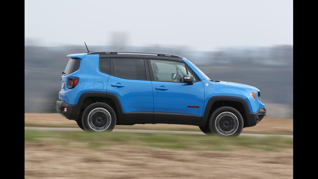 Jeep Renegade 2.0 Multijet Trailhawk, Seitenansicht