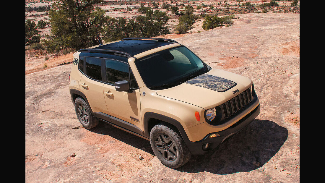 Jeep Renegade Deserthawk Los Angeles Motorshow 2016