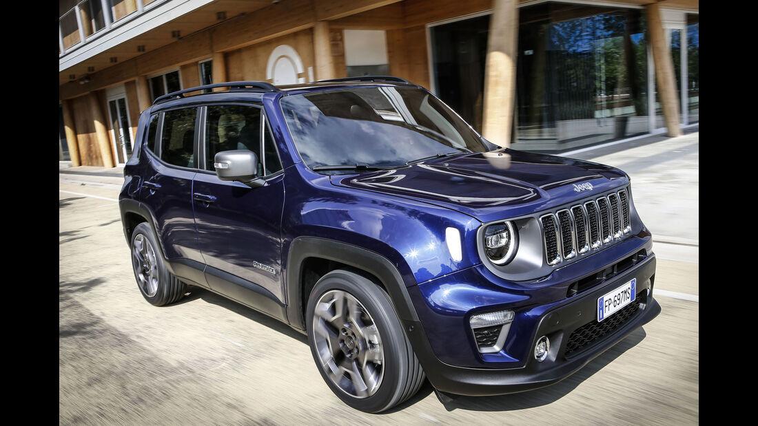 Jeep Renegade Facelift Modelljahr 2019