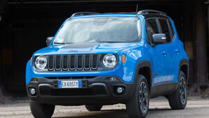 Jeep Renegade, Frontansicht