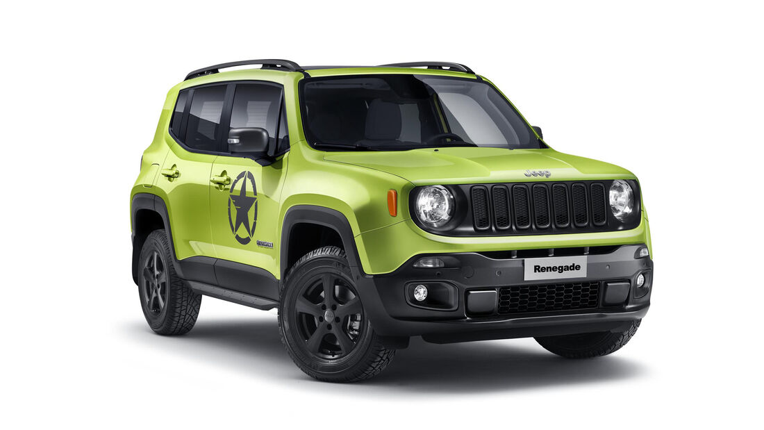 Jeep Renegade Genf 2018