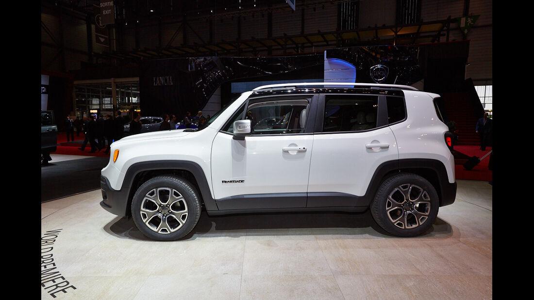 Jeep Renegade, Genfer Autosalon, Messe, 2014
