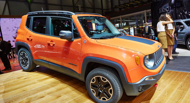 Jeep Renegade Auf Dem Genfer Autosalon 2014 Erstaufschlag Bei Den
