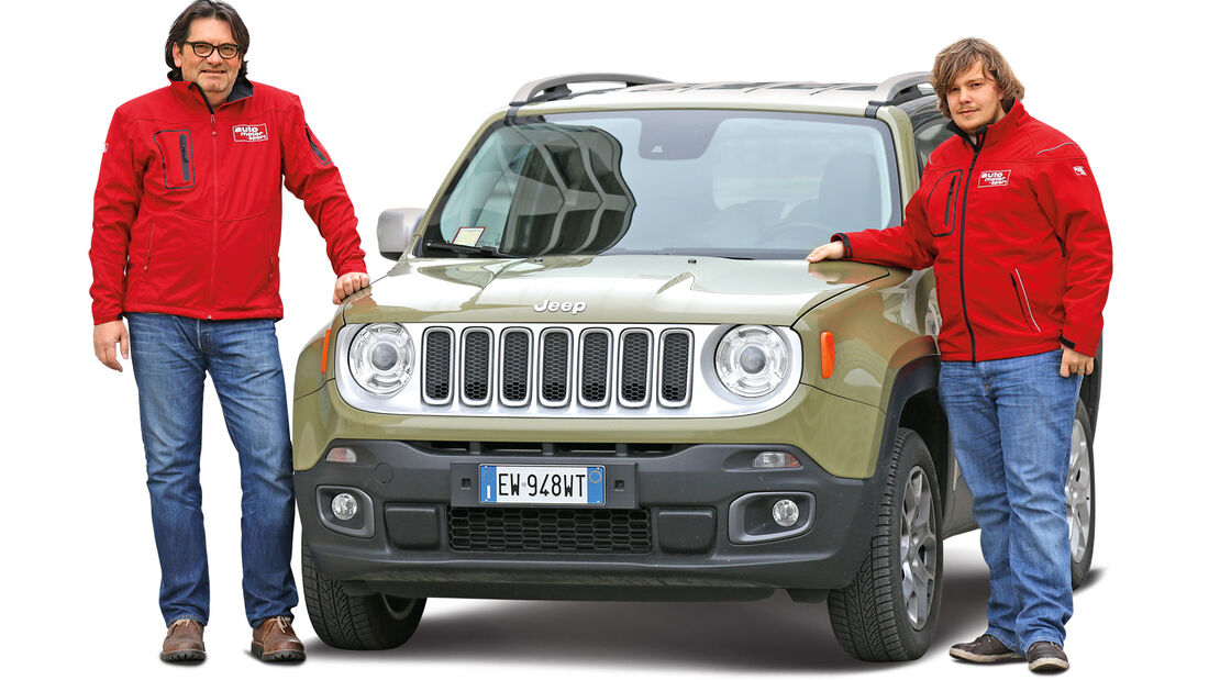 Jeep Renegade, Heinrich Lingner, Luca Leicht