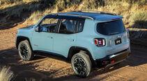Jeep Renegade Latitude und Trailhawk Weltpremiere