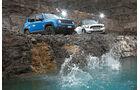 Jeep Renegade, Mini Countryman, Impression, Frontansicht