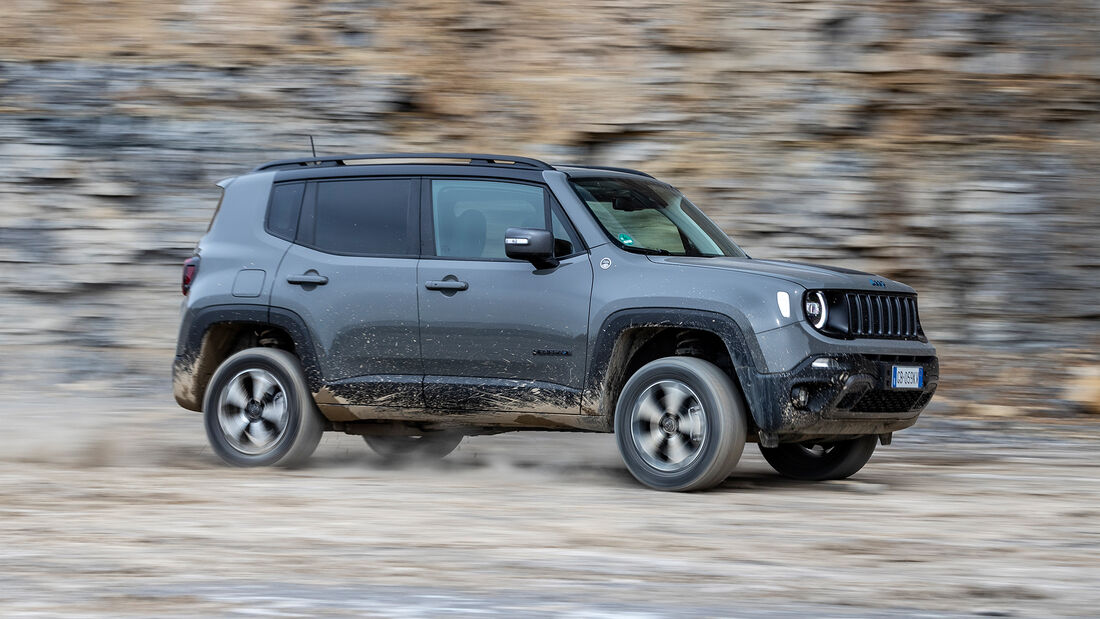 Jeep Renegade PHEV 4xe Trailhawk, Exterieur